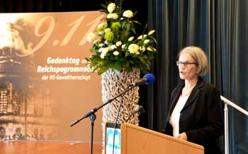 Renate Rede 9.11.2015  in der Budge-Stiftung